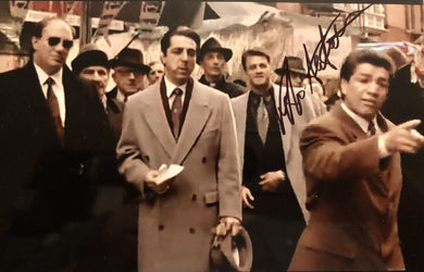 Vito Antuofermo Autographed signed Godfather Movie Photo 8x10 size