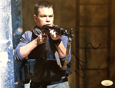 Matt Damon Autographed 8x10 signed Photo COA JSA