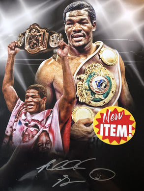 Riddick Bowe Autographed signed 11 x 14 Boxing Photo
