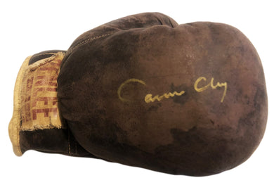 Cassius Clay Muhammad Ali Autographed Vintage Ultra Rare Boxing Glove
