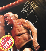 "Nature Boy Ric Flair 16x champ, Autographed Signed 16x20 Photo ""Blood bath"""