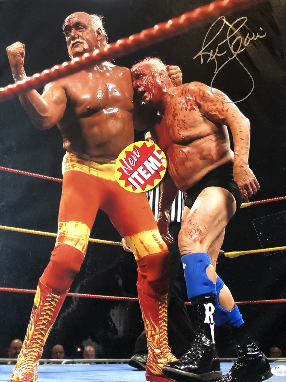 Nature Boy Ric Flair 16x champ, Autographed Signed 16x20 Photo