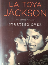 "La Toya Jackson Hand Signed ""Starting Over"" autographed book authentic Rare!"