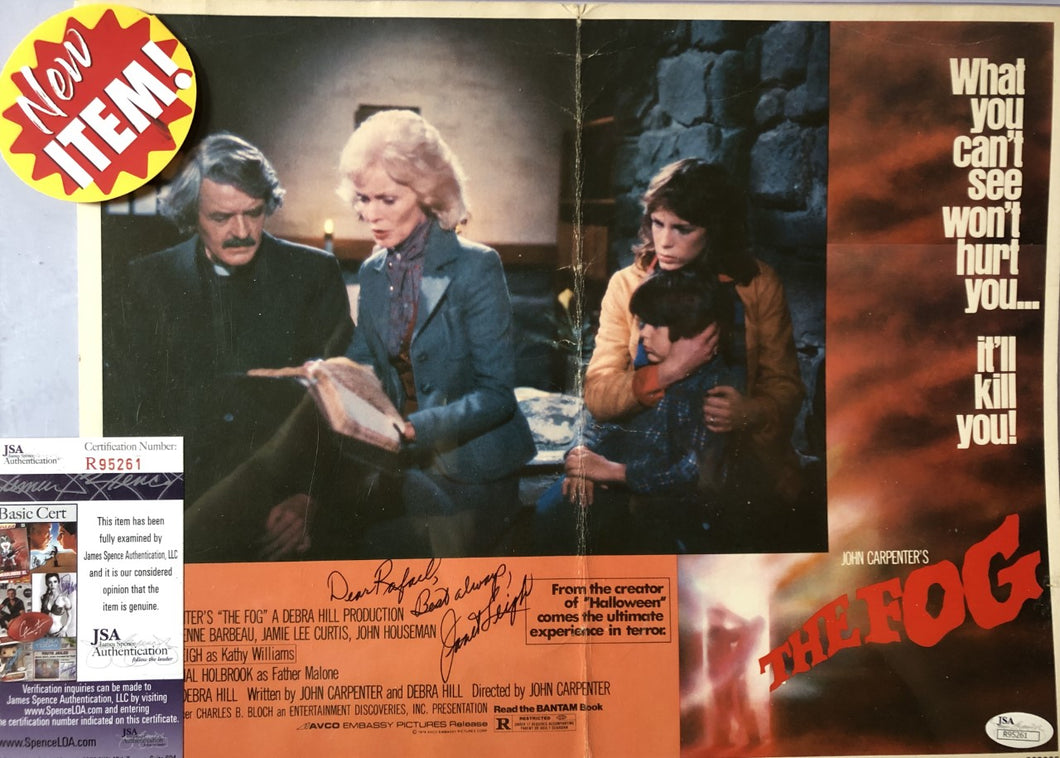 Janet Leigh Signed Autographed John Carpenter's movie
