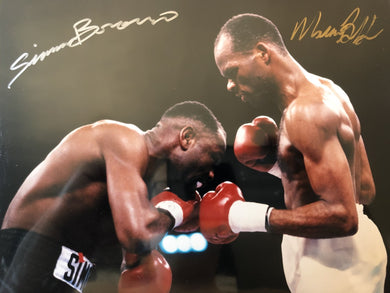 Simon brown and Maurice Blocker Dual Signed Authentic Autographed 8x10 Photo Hand Signed COA