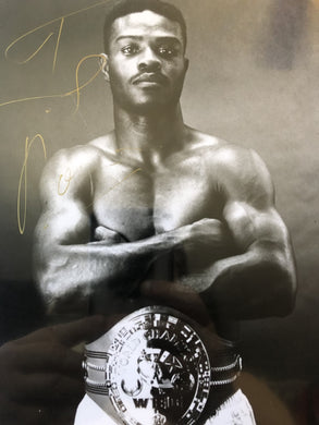 Terry Norris Boxer Authentic Autographed Signed 8x10 Photo