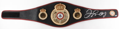 Floyd Mayweather Jr. Signed Full-Size WBA Championship Boxing Belt (Beckett Witnessed COA)