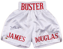 "James ""Buster"" Douglas Signed Boxing Shorts (MAB Hologram)"