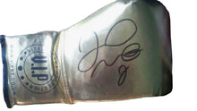 Floyd Mayweather Jr. VIP Gold Autographed Boxing Gloves