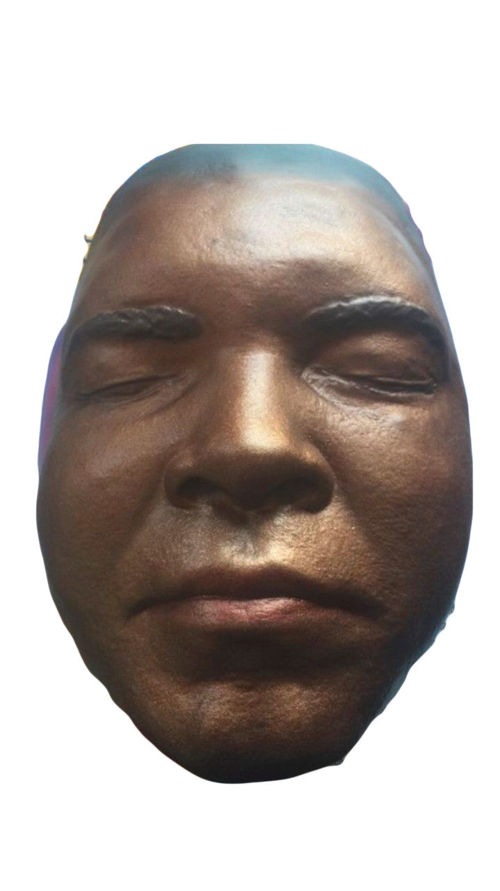 Boxing Champion Muhammad Ali actual Face Cast, highly detailed display item