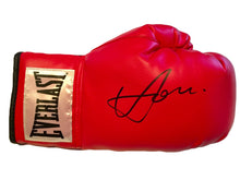 Boxer Vasyl Lomachenko Rare Autographed Everlast Red Boxing Glove in Black Signature