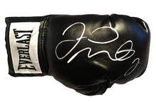 Floyd Mayweather Jr. Autographed Everlast Boxing Glove in Silver Marker