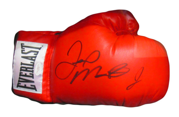 Floyd Mayweather Jr., Autographed Everlast Boxing Glove in Black signature  JSA