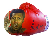 Muhammad Ali Autographed and Painted Everlast Boxing Glove with Ali co. Certification