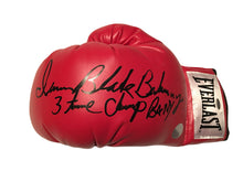 "Iran ""The Blade"" Barkley Autographed Signed Everlast Boxing Glove"