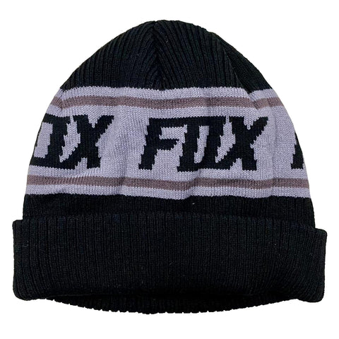 GORRO FOX WILD AND FREE NEGRO