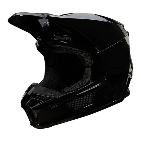 CASCO FOX V1 PLAIC NEGRO