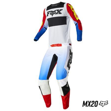 KIT 176 FOX 360 LINC AZUL/ROJO