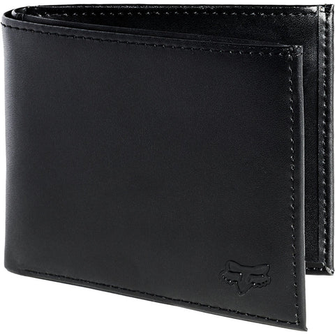 CARTERA FOX BIFOLD LEATHER NEGRO