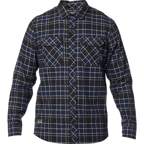 CAMISA FOX TRAILDUST 2.0 AZUL