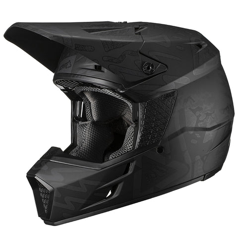 CASCO LEATT GPX 3.5 V19.3 · NEGRO