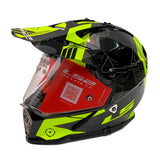 CASCO CROSS CITY LS2 PIONEER 2017 TRIGGER NGO/AMA FLUO MX436