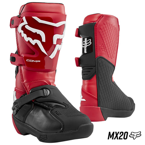 BOTAS FOX COMP ROJO FLAMA