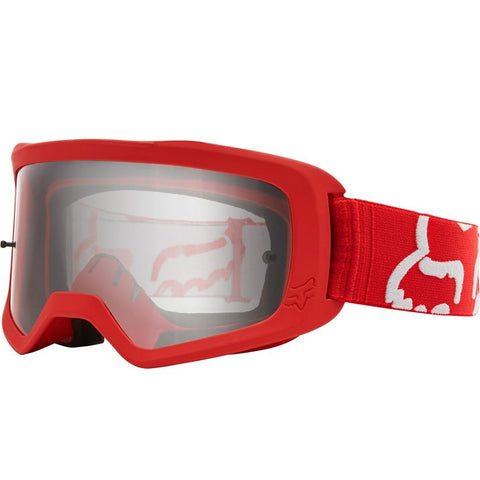 GOGGLE FOX MAIN RACE NIÑO  ROJO
