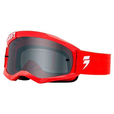 GOGGLE SHIFT WHIT3 LABEL ROJO