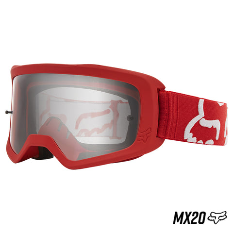 GOGGLE FOX MAIN RACE ROJO