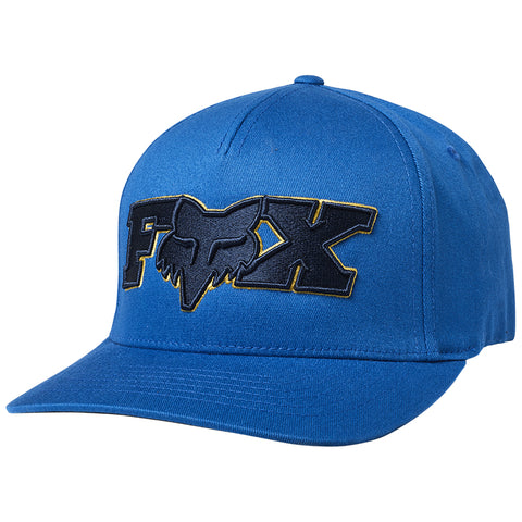 GORRA FOX ELLIPSOID FLEXFIT AZUL