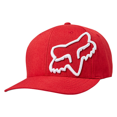 GORRA FOX FLEXFIT CLOUDED ROJO