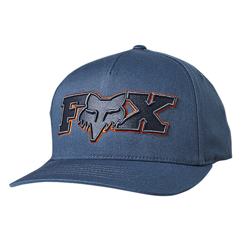 GORRA FOX FLEXFIT ELLIPSOID AZUL
