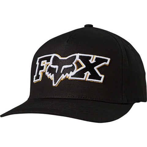 GORRA FOX FLEXFIT ELLIPSOID NEGRO