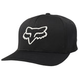 GORRA FOX FLEXFIT LITHOTYPE NEGRO/GRIS