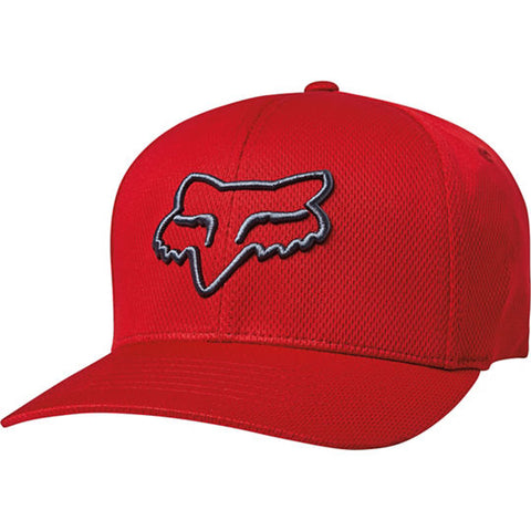 GORRA FOX FLEXFIT LITHOTYPE ROJO