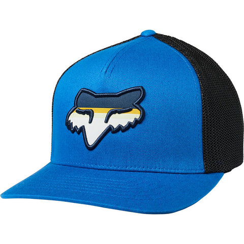 GORRA FOX HEAD STRIKE FLEXFIT AZUL