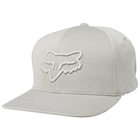 GORRA FOX LITHOTYPE FLEXFIT GRIS CLARO