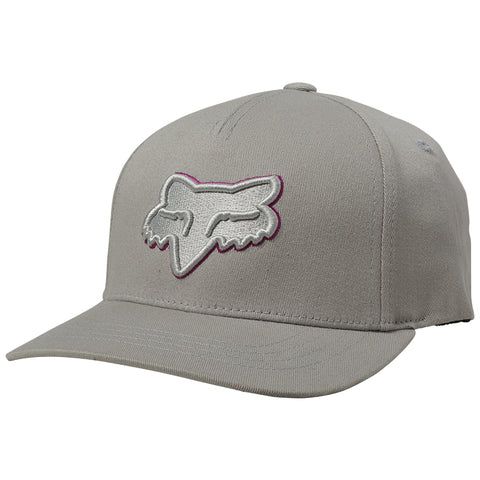 GORRA FOX NIÑO EPICYCLE 110 SB GRIS/ROSA