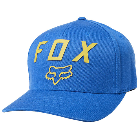 GORRA FOX NUMBER 2  FLEXFIT AZUL