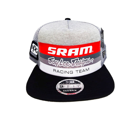 GORRA TROY LEE DESIGNS SRAM TLD RACING BLOCK SNAPBACK OSFA