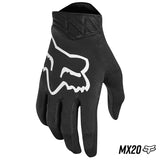 GUANTES FOX AIRLINE NEGRO