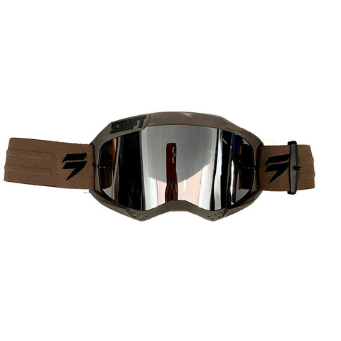 GOGGLE SHIFT WHIT3 LABEL CAFE/NEGRO