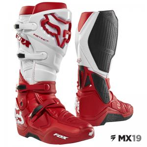 BOTA FOX INSTINCT ROJO