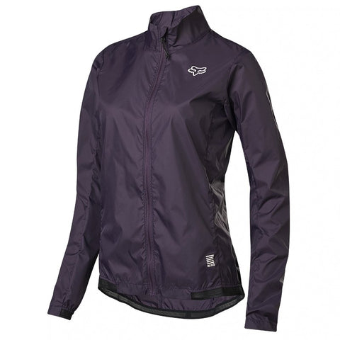 JACKET FOX DAMA  DEFEND WIND MORADO OSCURO