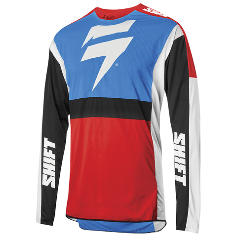 JERSEY SHIFT 3LACK LABEL RACE 2 AZUL/ROJO