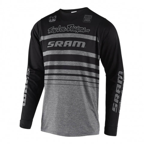JERSEY TROY LEE DESIGNS SKYLINE STREAMLINE SRAM GRIS