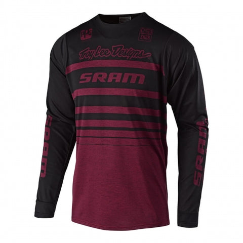 JERSEY TROY LEE DESIGNS SKYLINE STREAMLINE SRAM GUINDA