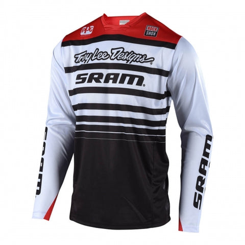 JERSEY TROY LEE DESIGNS SPRINT SRAM BLANCO/NEGRO
