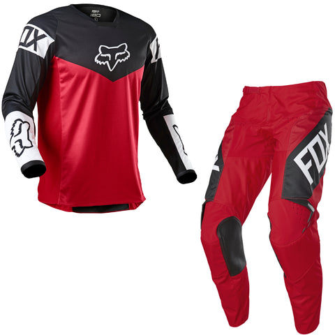 KIT FOX 180 REVN ROJO FLAMA